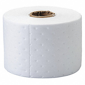 Absorbent Roll,Oil-Based Liquids,White