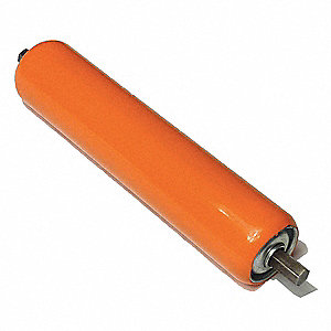 Galv Covered Roller, 1.9In Dia, 10BF