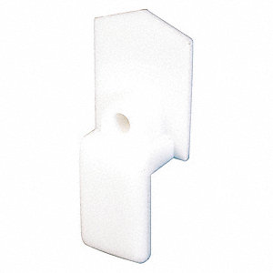 Panel Door Guide,  Bi-Fold Door,  Plastic,  Unfinished,  13/16 Width (In.),  1 PR