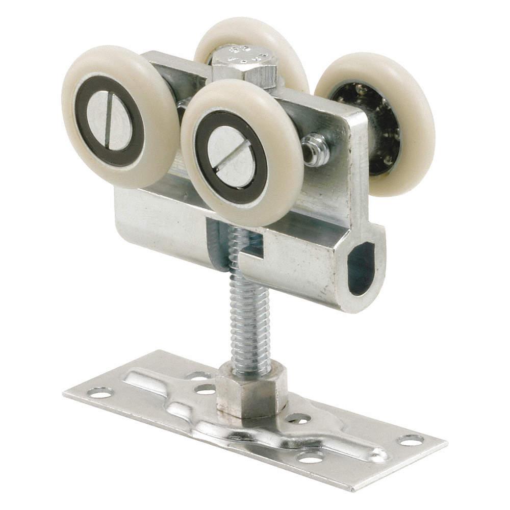 Pocket Door Rollers >> Closet Door Roller Sliding Door Nylon Unfinished 4 Length In 4 Width In