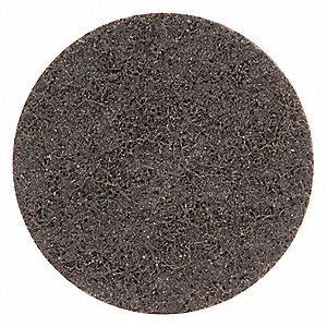 "3"" Non-Woven Quick Change Disc, TR Roll-On/Off Type 3, 40, Coarse, Aluminum Oxide, 1 EA"