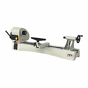 "Lathe,  Wood Turning,  115/230 Voltage,  1 Motor HP,  21-39/64"" Overall Height,  56"" Overall Length"