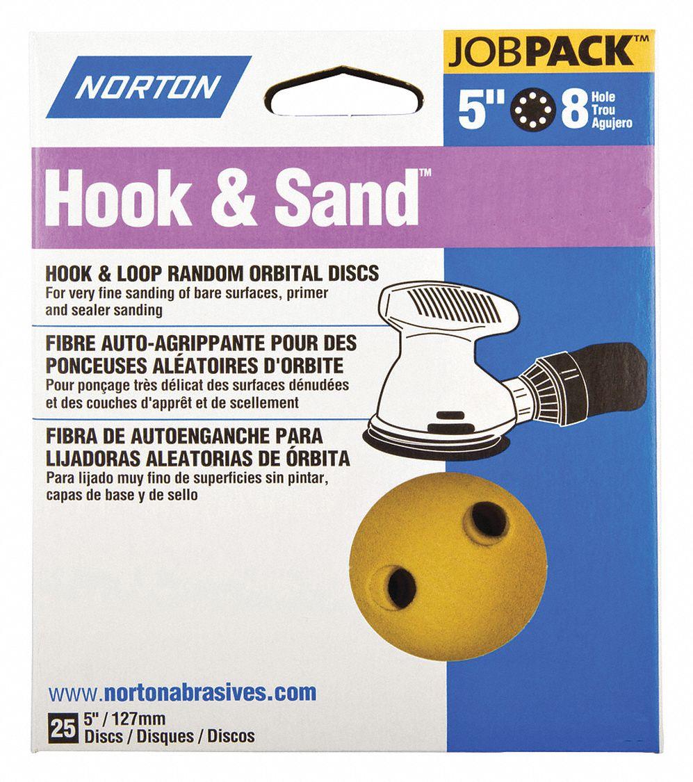 "3M 5/"" Coated Sanding Disc Roll Multi-Hole 1000 Grit Ultra Fine Grade 500 PK"