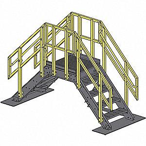 Fibergrate Roof Crossover System Frp Composite 12