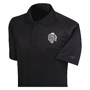 Tactical Polo, S, w/Silver Gray Embroidery