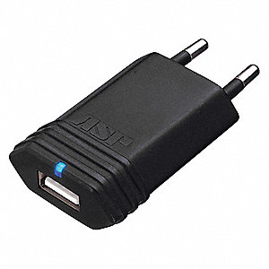 EU USB Wall Charger for Rechargeable Flashlights