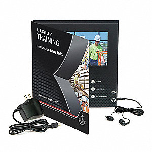Safety Training Kit,  DVD,  Construction Safety,  English,  72 min.