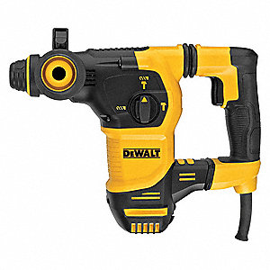 SDS Plus Rotary Hammer, 4.0 Amps, 0 to 5200 Blows per Minute, 220 Voltage European Plug