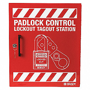 "Lockout Station, Unfilled, General Lockout, 15-1/2"" x 18"""