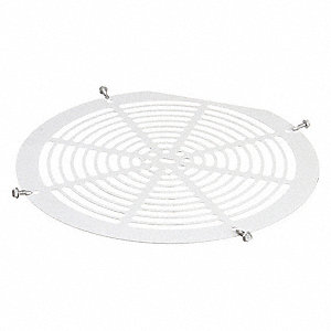 Evaporator Fan Gaurd Kit White