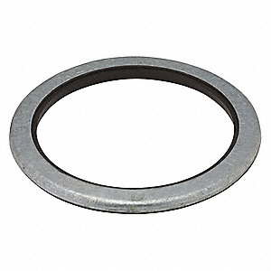 Steel/Neoprene Liquid Tight Sealing Ring,  For Use With Fittings and Enclosures ,  Conduit: 1/2