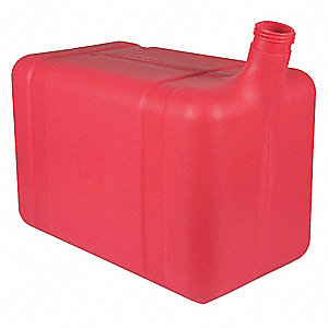 Fuel Tank,10 gal.,Red