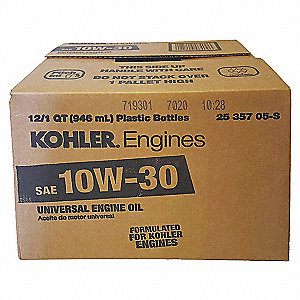 Oil,10W30 Command,12 qt.,Case,PK12