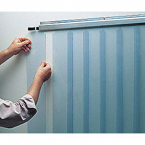 "Curtain Kit,64"" x 102"",0.06""Thick,6""Wide"