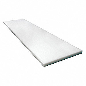 "Cutting Board, Polyethylene, 93-1/4"" x 32-1/8"" x 1/2"",  For Use With Grainger Item Number 43WT66"