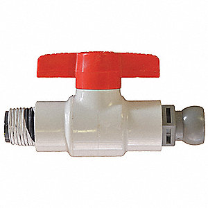 Ball Valve Kit for Nozzle, 1/2 in.