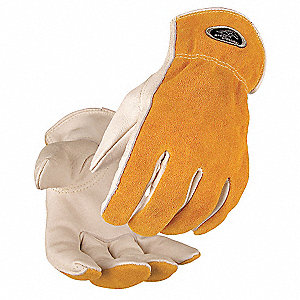 Leather Drivers Gloves,Cowhide,XL,PK12