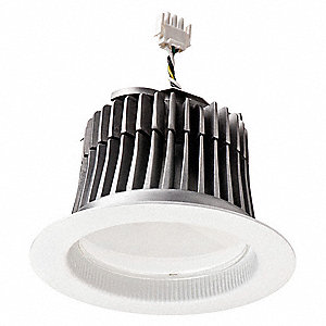"7-3/8"" x 7-3/8"" x 4-5/8"" Non-Dimmable LED Can Light Retrofit Kit with 650 Lumens"