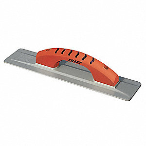 Concrete Hand Float,Sq,3-1/2 x 16 in,Mag