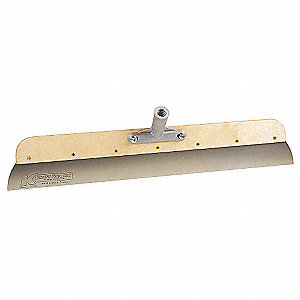 Hand Held Concrete Smoother,24 in,Wood