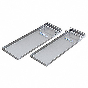 Concrete Slider Knee Board, Stainless, Pr
