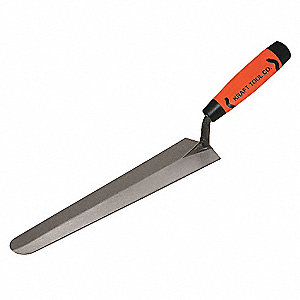 Duck Bill Trowel,Square,2 x 10 in,Steel