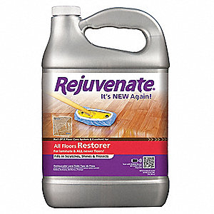 rejuvenate floor restorer rejuvenate 128 oz floor restorer 4 pk 43y662 rj128f 10691