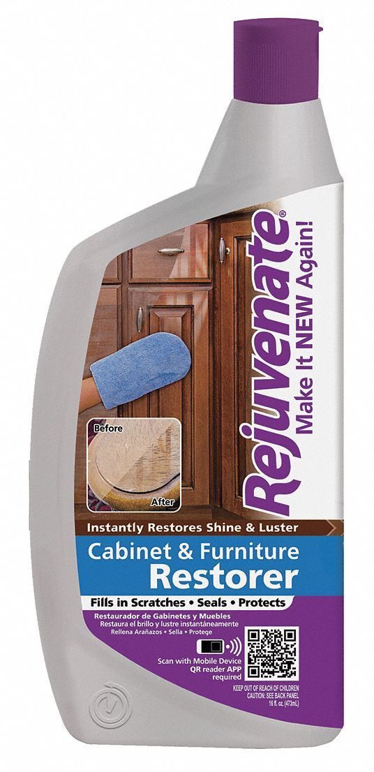 Furniture Cleaner and Polish,  16 oz,  Bottle,  Unscented,  PK 12