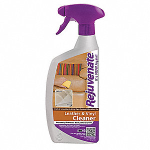 Leather/Vinyl Cleaner, 24 oz., PK12
