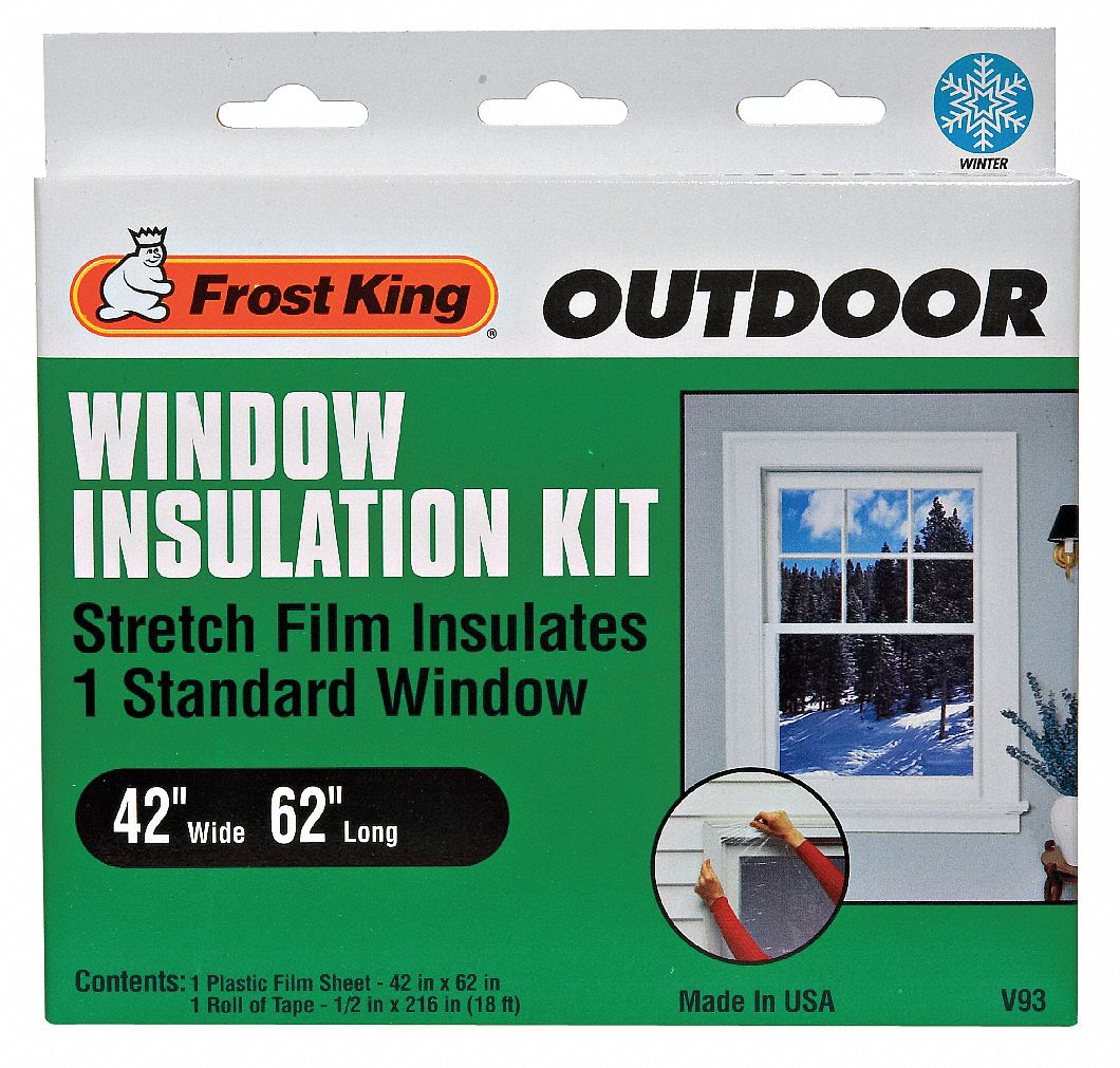 Frost king usa for Window insulation rating