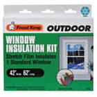 WINDOW KIT,OUTDOOR,42 X 62 IN