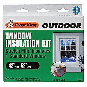 WINDOW KIT,OUTDOOR,42 X 62 IN