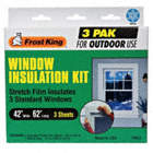 WINDOW KIT,OUTDOOR,42IN W X 62IN L