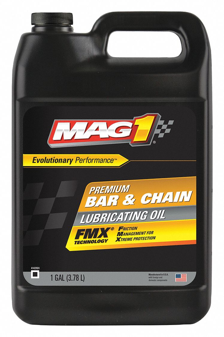 MAG 1 Bar and Chain Lubricant, 1 gal. Jug - 43Y866|CG38BC4P - Grainger