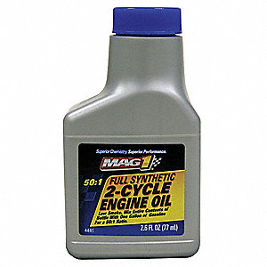 2-Cycle Full Synthetic Engine Oil,2.6Oz.