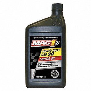 Mag 1 heavy duty motor oil 1 qt 30w 43y892 mag61646 for What motor oil do i need
