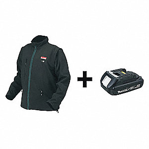 Men's Cordless Heated Jacket, Size: S, Battery Included: Yes