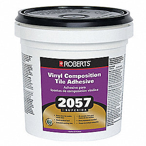 Vinyl Composition Tile Adhesive,1 gal