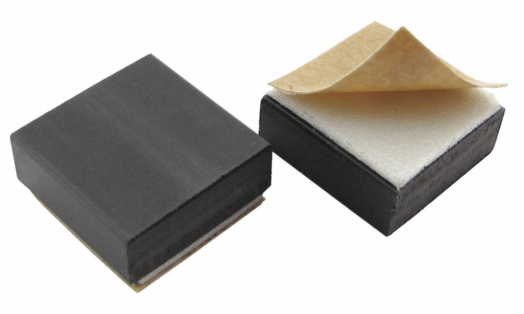 High Energy Flexible Magnets,  Foam Adhesive,  1.35 lb Max. Pull,  1/2 in Length,  1/2 in Width