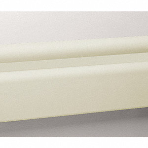 3 pc.,Wall Rail,Vinyl,Ivory,144In