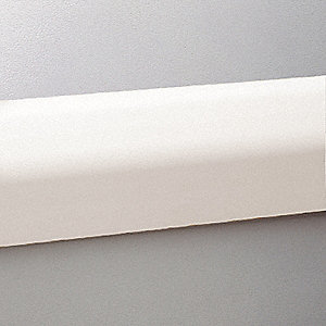 "Guard Rail,  Impact Resistant,  Linen White,  Mounting Dimension 32"" on Center"