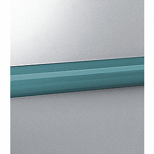 Bumper Rail, Teal, 144In
