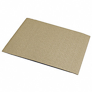 "Wall Covering, Tan, Vinyl, 96"" Length, 48"" Height, 1/16"" Thickness"