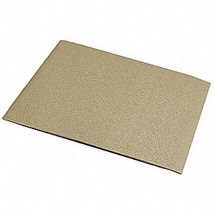 "Wall Covering, Tan, Vinyl, 96"" Length, 48"" Height, 1/32"" Thickness"