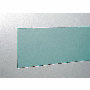 "Wall Covering, Teal, Vinyl, 96"" Length, 8"" Height, 3/64"" Thickness"