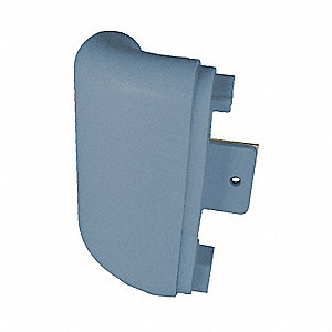 Security Outside Corner,  Impact Resistant,  Windsor Blue,  Mfg No. BR-530 For Use With