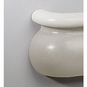 Right Handrail Return,Linen White