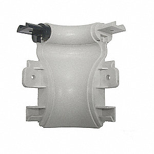 Inside Corner,  Impact Resistant,  Silver Gray,  Mfg No. BR-600V For Use With