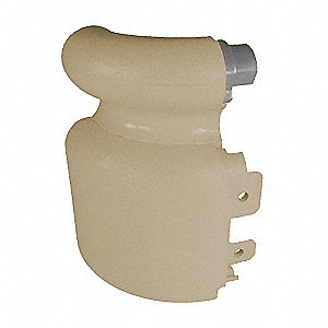 Right Handrail Return,Sec Plate,Tan