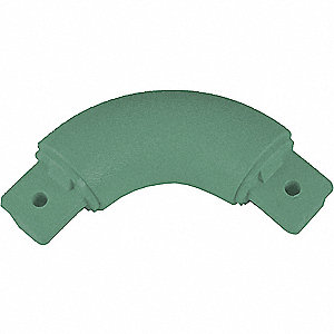 Inside Outside Corner,  Impact Resistant,  Teal,  Mfg No. BR-1200 For Use With